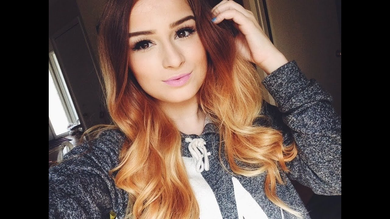 The Best Ombré Hair Tutorial How To Do Ombre Hair Youtube Pictures