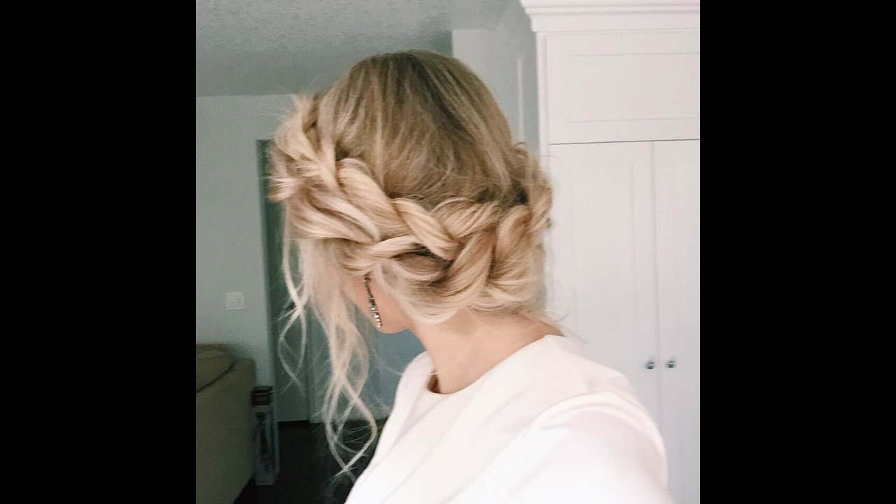 The Best How To Twisted Updo Youtube Pictures
