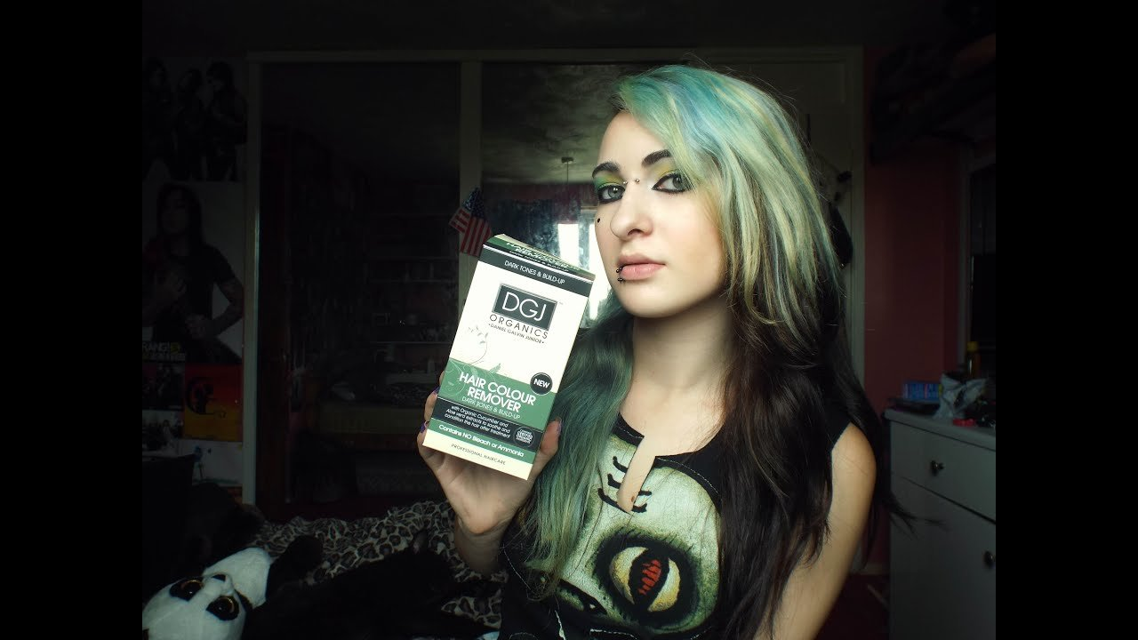 The Best Dgj Organics Hair Color Remover Review Youtube Pictures