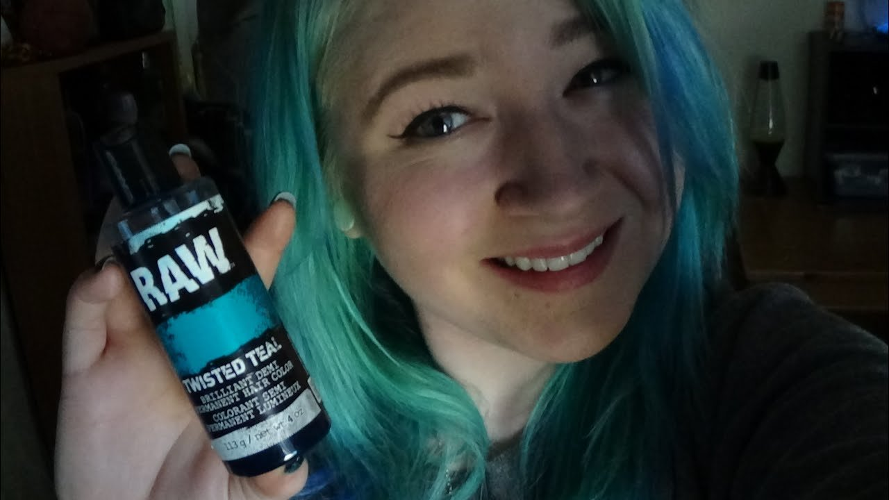 The Best Raw Twisted Teal Hair Dye Update Youtube Pictures