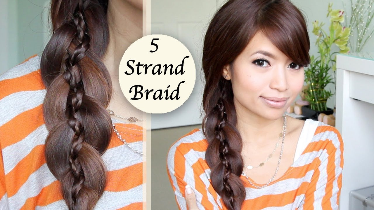 The Best Unique 5 Strand Braid Braid In Braid Hairstyle Hair Pictures