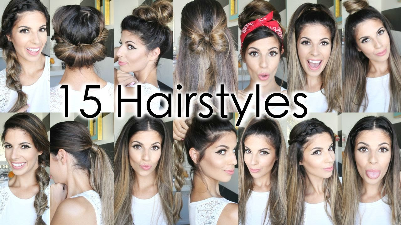 The Best 15 Back To School Heatless Hairstyles Youtube Pictures