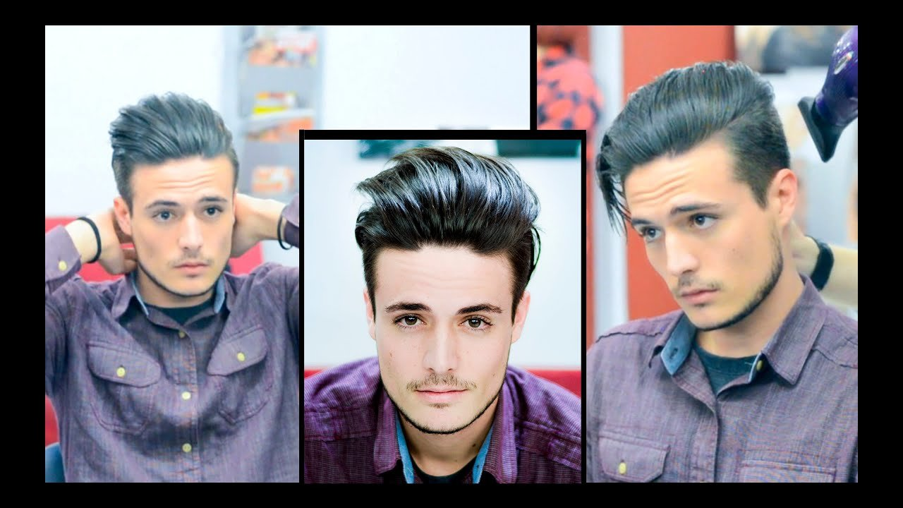 The Best Mens Hair Modern Slick Back Faded Undercut Haircut Pictures