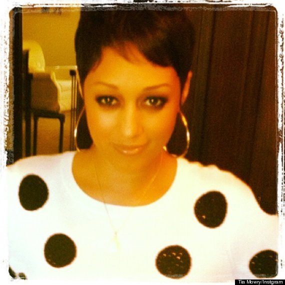 The Best Tia Mowry Haircut Tia Tamera Star Chops It All Off Pictures