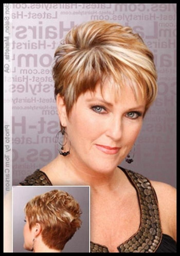 The Best 2019 Popular Short Haircuts Women Over 50 Pictures