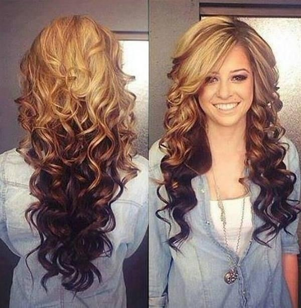 The Best 15 Photo Of Two Tone Long Hairstyles Pictures
