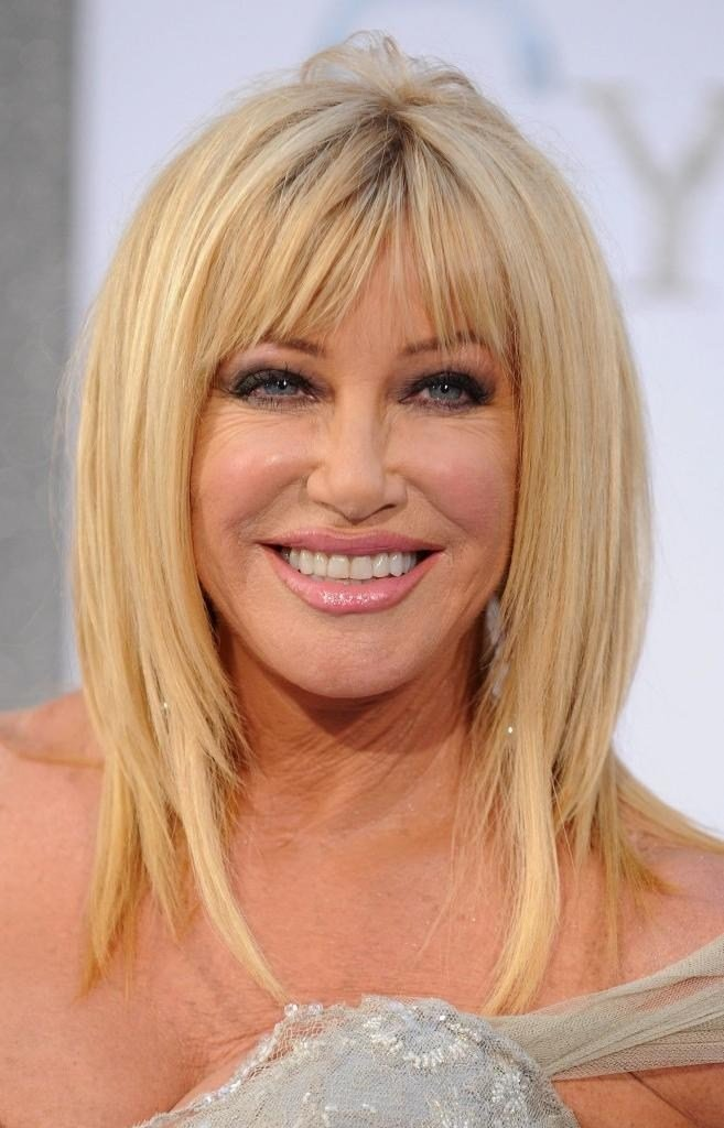 The Best 2019 Latest Long Hairstyles For Women Over 40 With Bangs Pictures