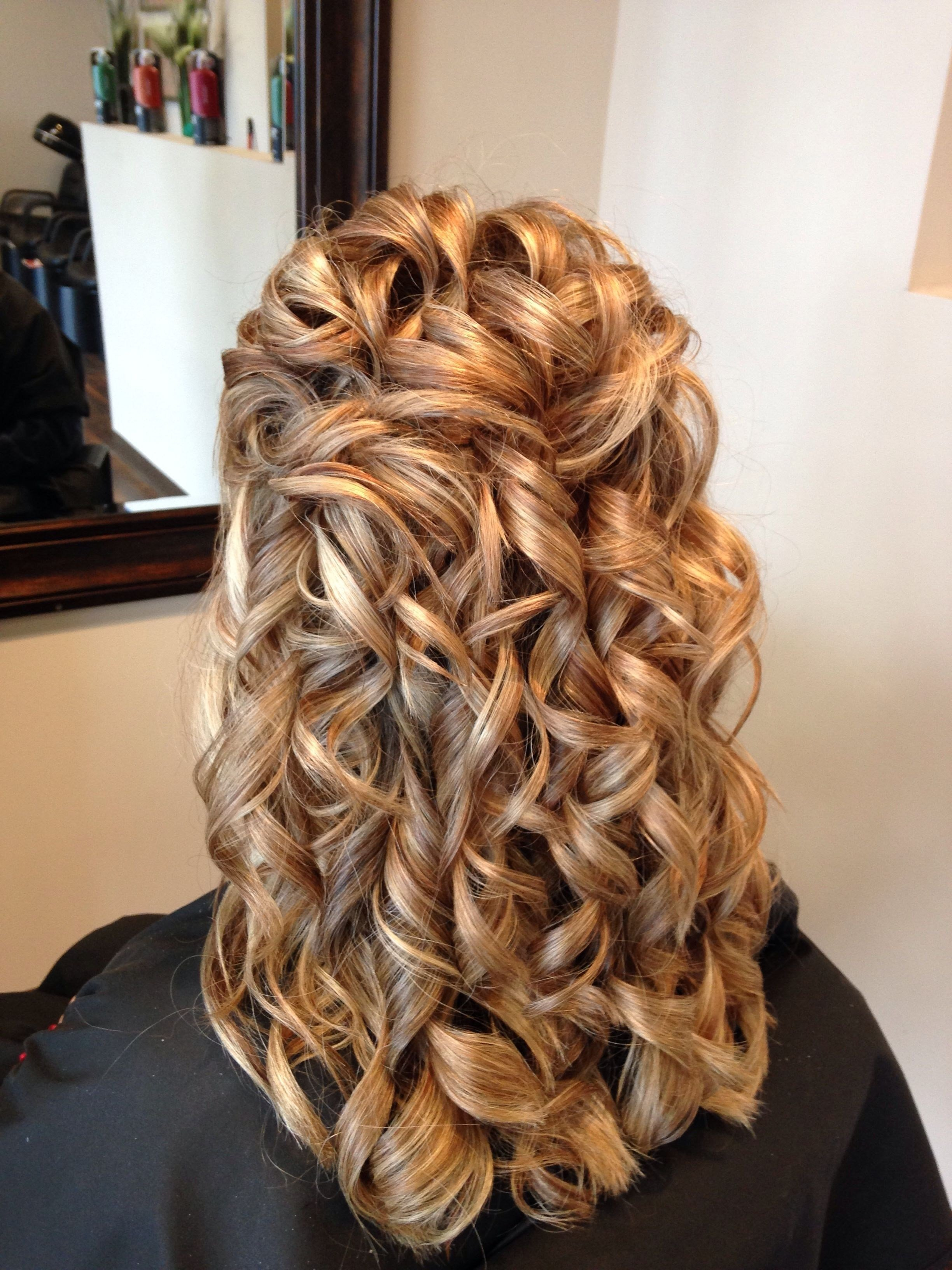 The Best 15 Ideas Of Partial Updo Hairstyles For Long Hair Pictures