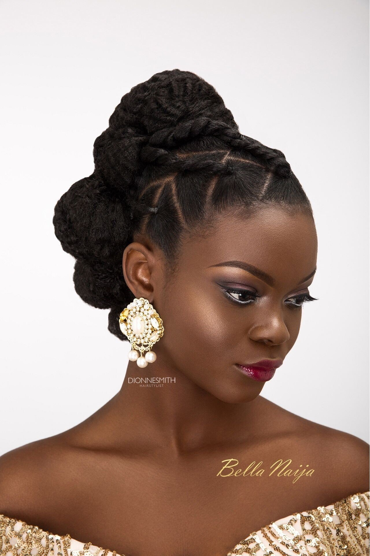 The Best 15 Best Ideas Of African Wedding Hairstyles Pictures