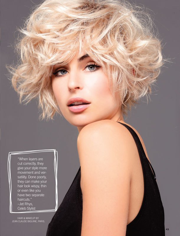 The Best Short Hair Style Guide Uncover Your Best Layers – Jet Rhys Pictures