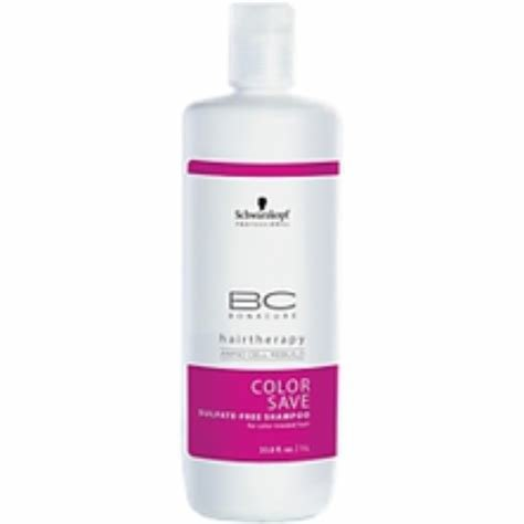 The Best Schwarzkopf Bc Color Save Sulfate Free Shampoo For Color Pictures