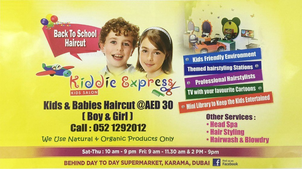 The Best Back To School Haircut By Kiddie Express Kids Salon Pictures
