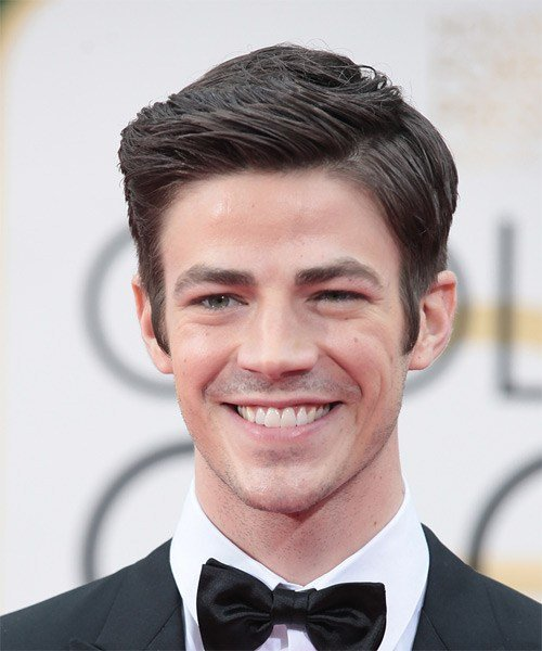 The Best Grant Gustin Formal Short Straight Hairstyle Pictures