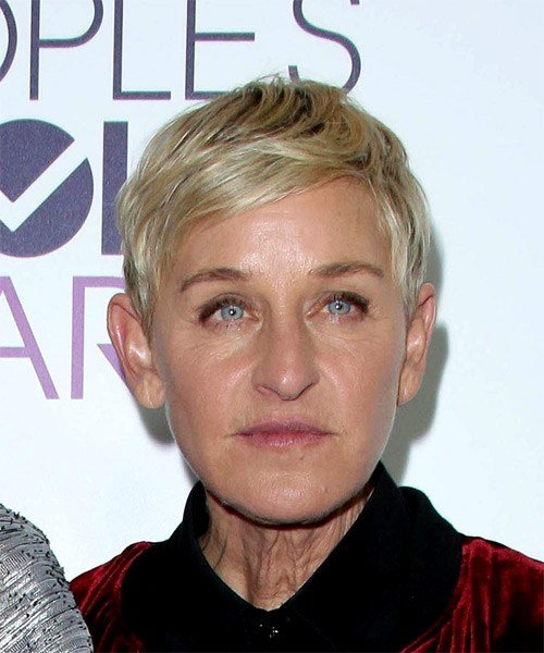 The Best Ellen Degeneres Hairstyles Hair Cuts And Colors Pictures