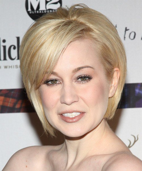The Best Kellie Pickler Formal Short Straight Layered Bob Hairstyle Pictures