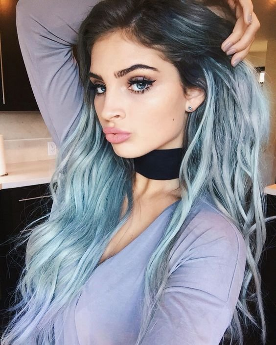 The Best 35 Fresh New Light Blue Hair Color Ideas For Trendsetters Pictures