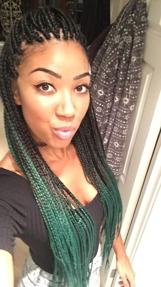 The Best 35 Individual Braids And Crochet Individual Braids Styles Pictures