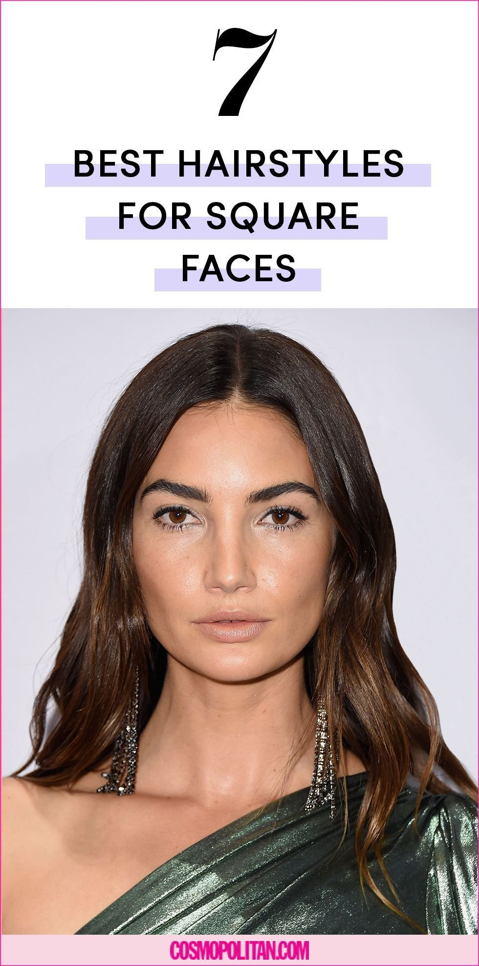 The Best The 7 Best Hairstyles For Square Face Shapes Pictures