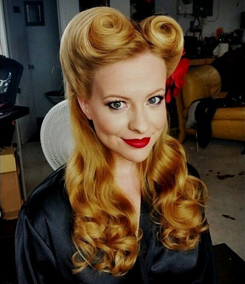 The Best 40 Pin Up Hairstyles For The Vintage Loving Girl Pictures