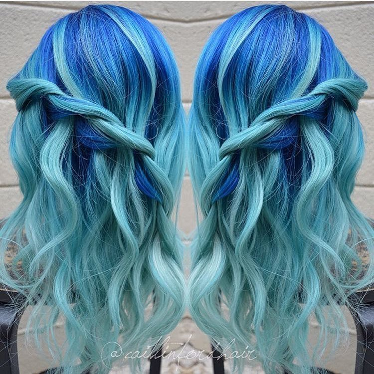 The Best 20 Icy Light Blue Hair Ideas Pictures