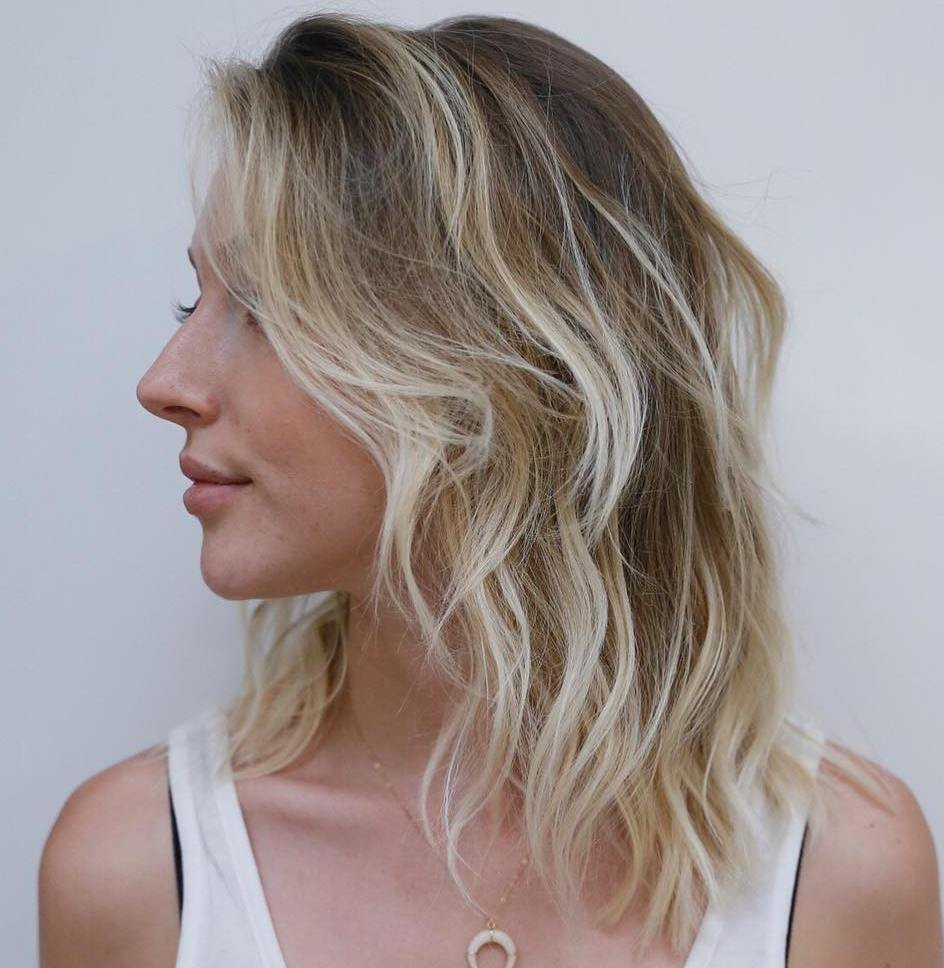 The Best 20 Styles With Medium Blonde Hair For Major Inspiration Pictures