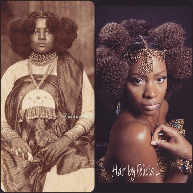 The Best Celebrity Hair Stylist Felicia Leatherwood's Rendition Of Pictures