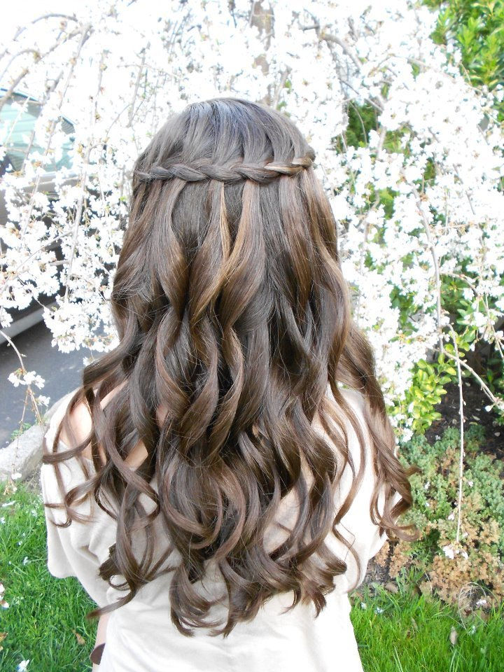 The Best The Waterfall Braid By Stylist Monica Total Image Hair Pictures