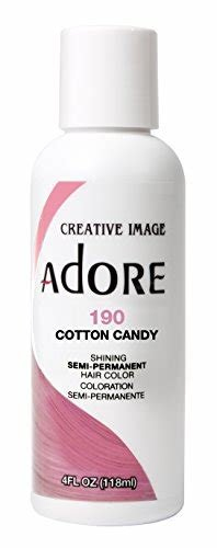 The Best Adore Semi Permanent Haircolor 190 Cotton Candy 4 Ounce Pictures