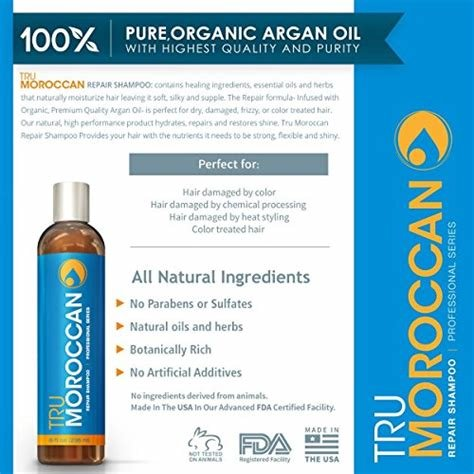 The Best Moroccan Oil Shampoo Best Natural Shampoo Organic Shampoo Sulfate Free Moroccan Argan Oil Pictures