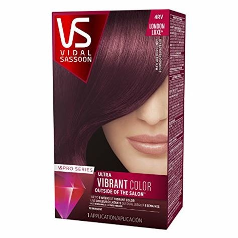 The Best Vidal Sassoon Pro Series London Luxe Hair Color Kit 4Rv Pictures