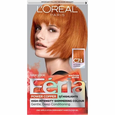 The Best Feria Copper Crave Hair Color Permanent Intense Bright Red Pictures