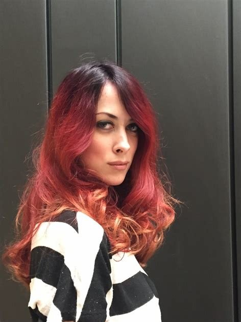 The Best Haircolor Transformation Brunette To Red With Steps And Pictures