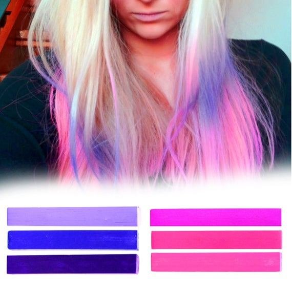 The Best 6 Best Temporary Pink Ombre Hair Dye For Dark And By Pastelstrands Pictures