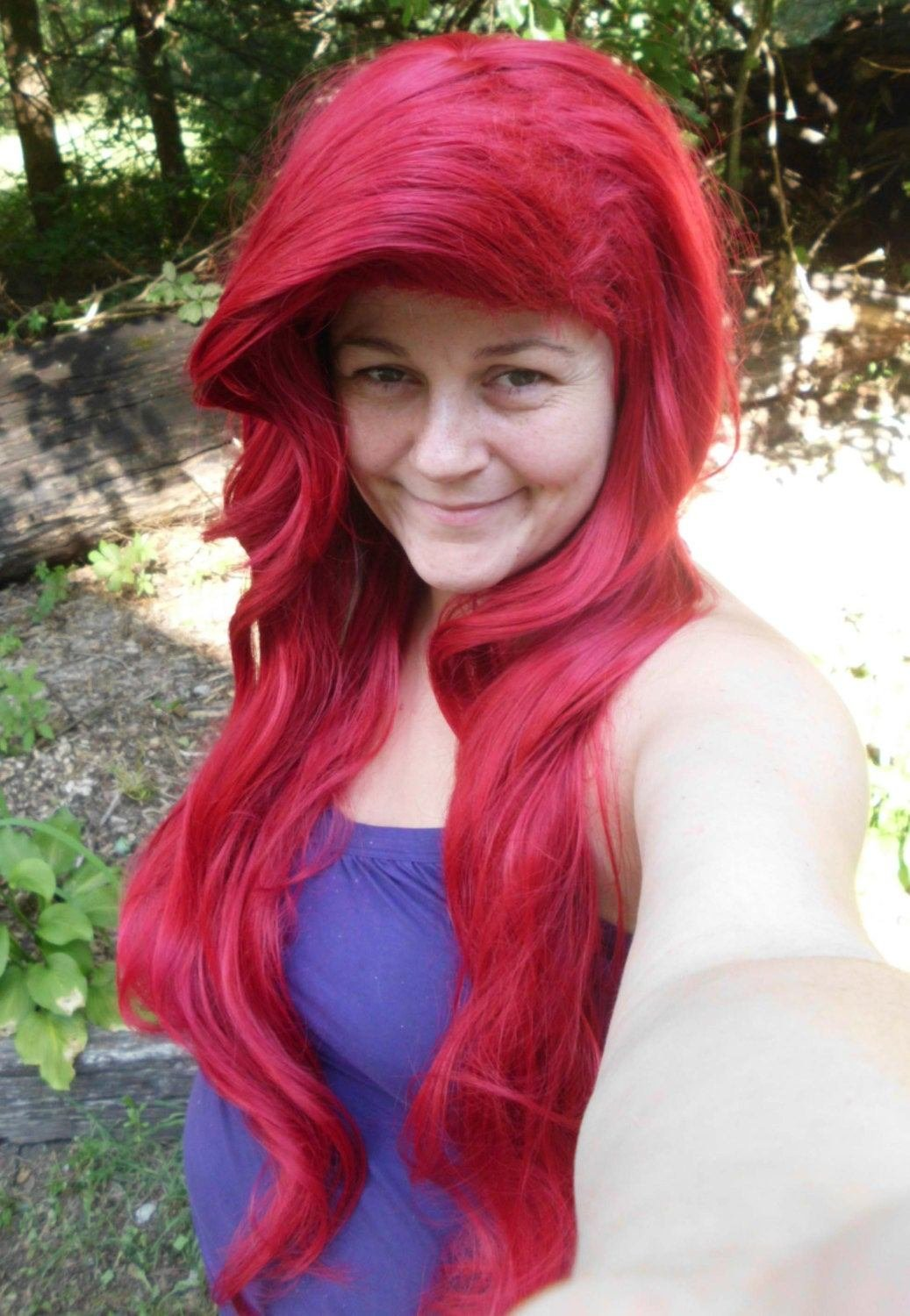 The Best Ariel Wig Princess Wig Long Red Wig Mermaid Wig Cosplay Pictures