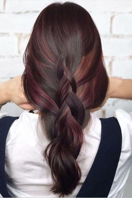 The Best Hair Color Trends For Brunettes That'll Make 2018 Pictures