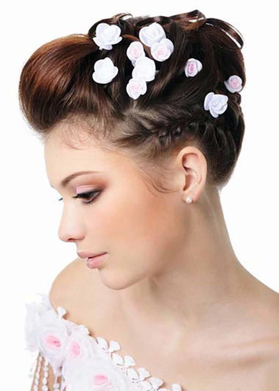 The Best Wedding Day Unique Knot Tail Hairstyle Xcitefun Net Pictures
