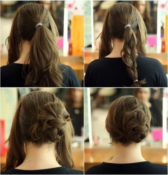 The Best Creative Hairstyles That You Can Easily Do At Home 27 Pictures