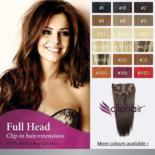 The Best Finest Quality Full Head Remy Clip In Human Hair Pictures
