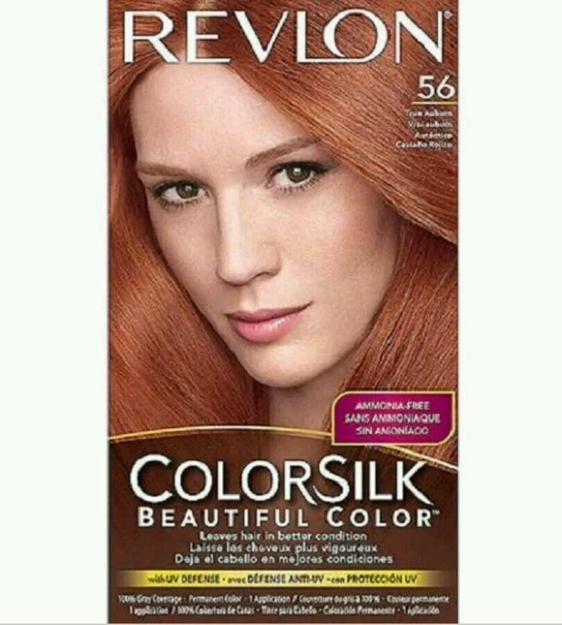 The Best Revlon Colorsilk 56 True Auburn Hair Color Ebay Pictures