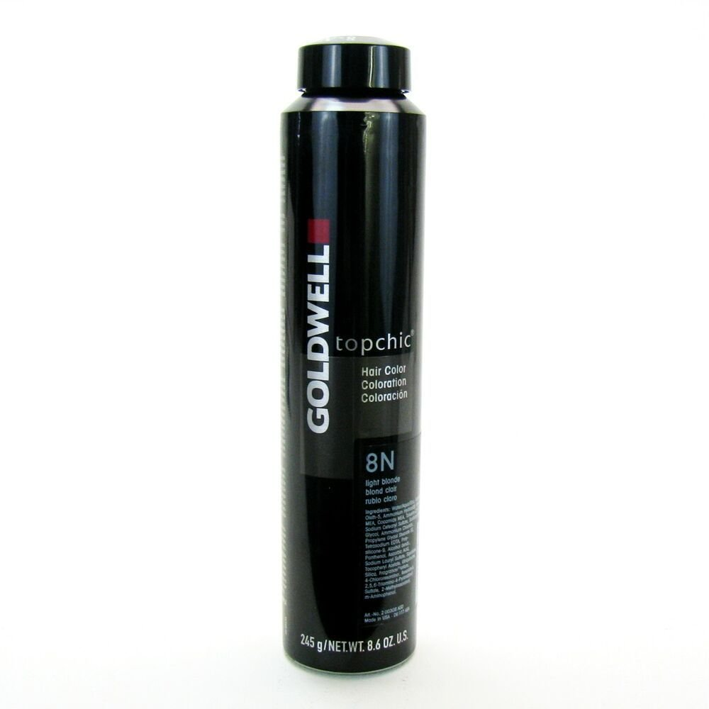 The Best Goldwell Topchic 8 6 Oz Can Hair Color Level 8 Ebay Pictures