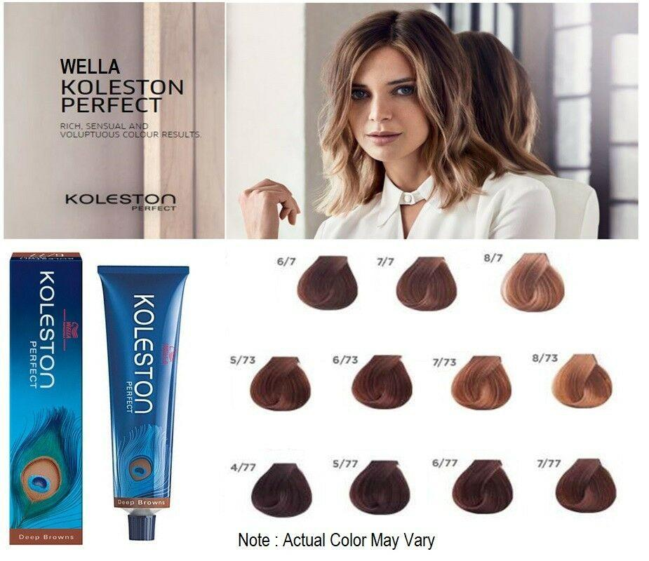 The Best Wella Professional Koleston Perfect Hair Color Dye Tint Pictures