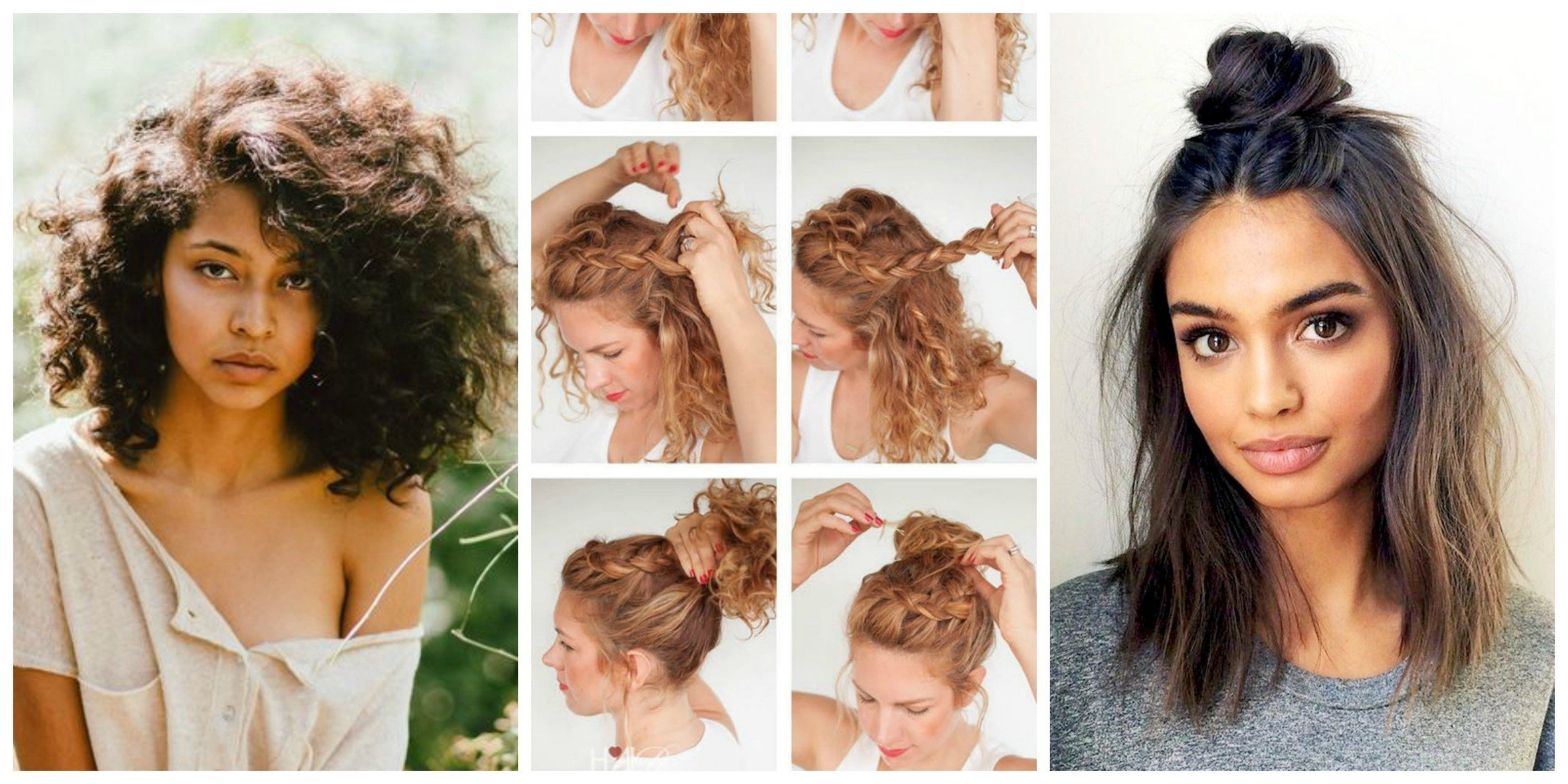 The Best No Heat Hairstyles That Are Superpopular On Pinterest Allure Pictures