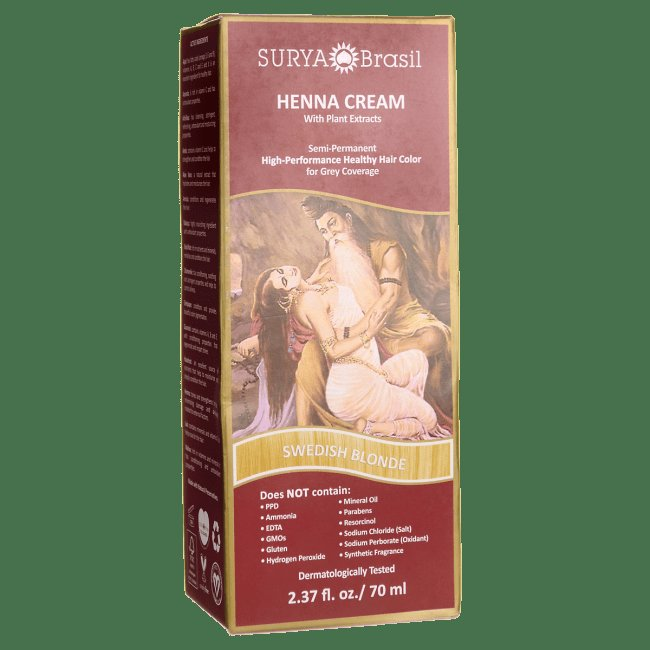 The Best Surya Brasil Henna Cream With Plant Extracts Swedish Pictures