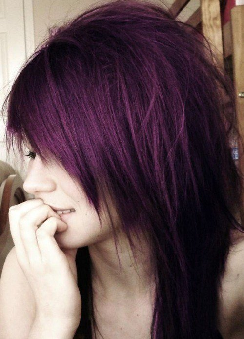 The Best Dark Purple Hair On Tumblr Pictures
