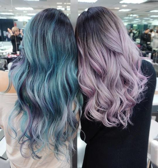 The Best Cotton Candy Colored Hair Tumblr Pictures
