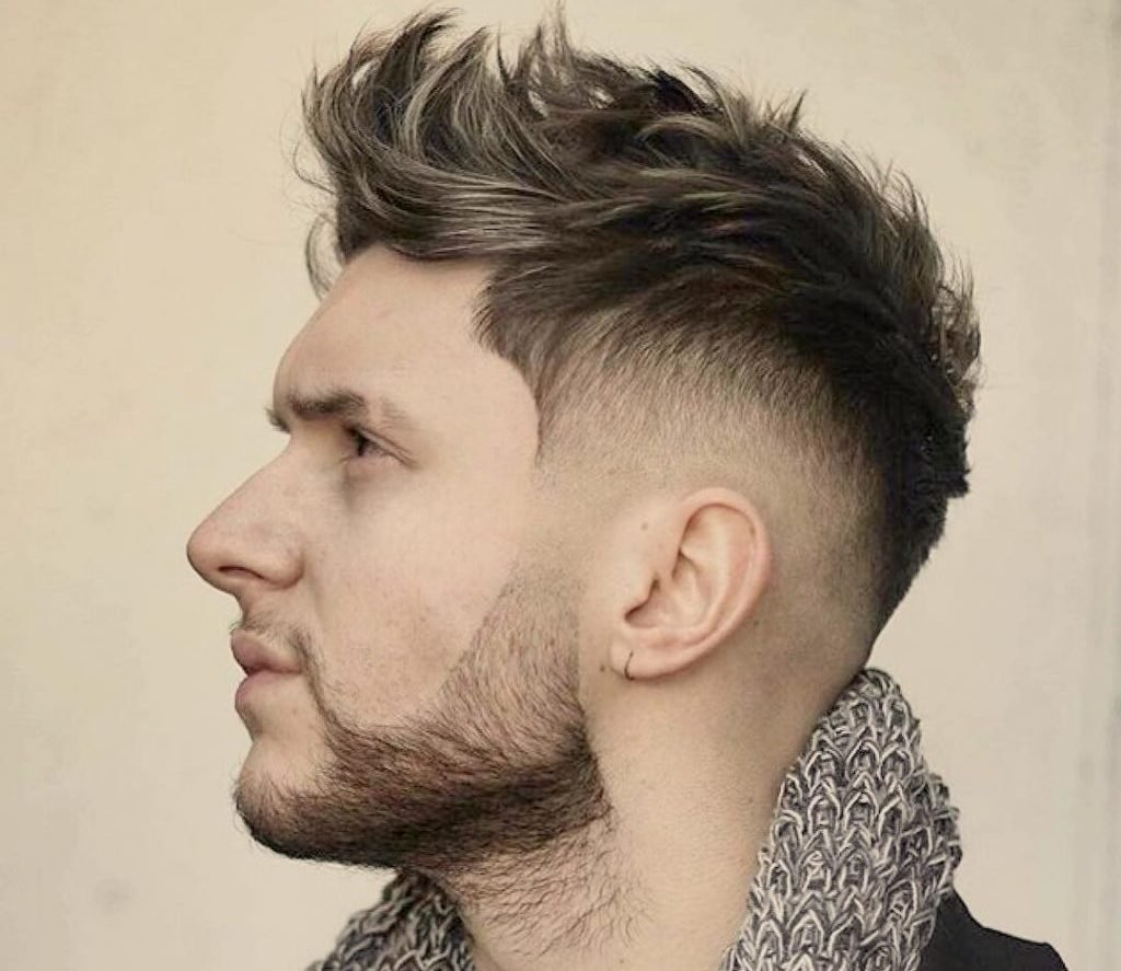 The Best Fohawk Fade 15 Coolest Fohawk Haircuts And Hairstyles Pictures