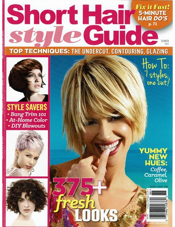 The Best Short Hairstyle Guide Summer 2017 Features Rocky Vitelli Pictures