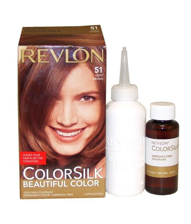 The Best Revlon Colorsilk Ammonia Free Hair Color 51 Light Brown Pictures