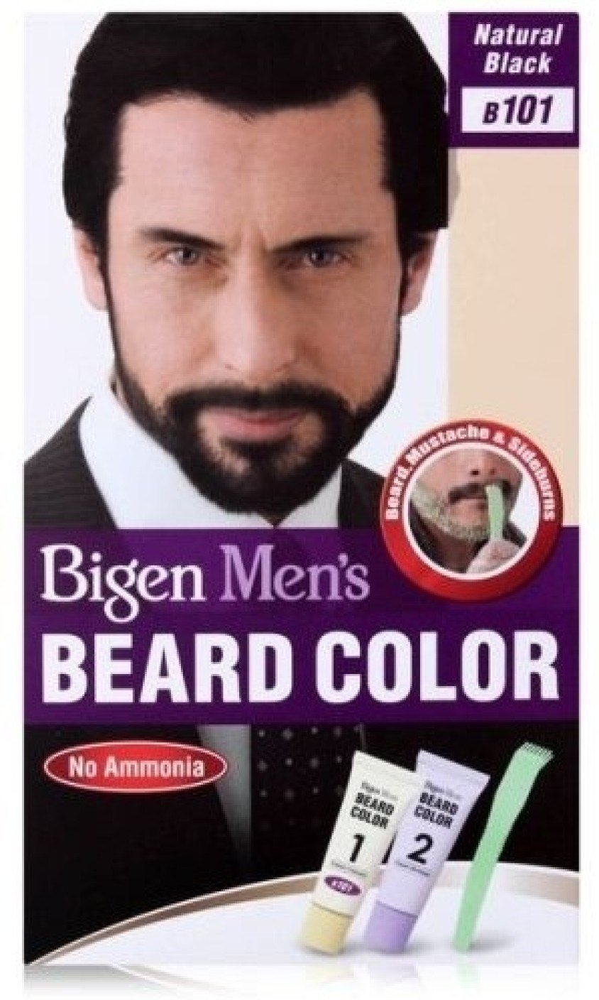 The Best Bigen Men S Beard Color B 101 Hair Color Price In India Pictures