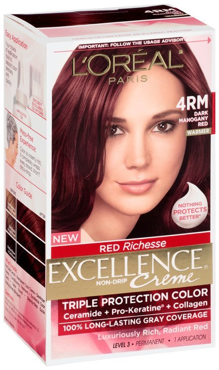 The Best L Oréal® Paris Excellence® Creme Red Richesse 4Rm Dark Pictures